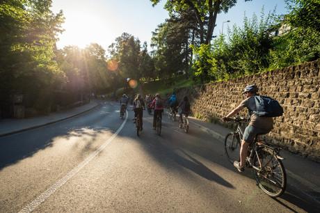 La dernière édition du Vëlosummer a vu pédaler environ 20.000cyclistes sur les 12 circuits cyclotouristiques  dans 65communes du pays. (Photo: Mike Zenari/Maison Moderne)