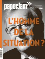 Septembre-octobre 2013. Jean-Claude Juncker par Andrés Lejona. (Archives / Maison Moderne)