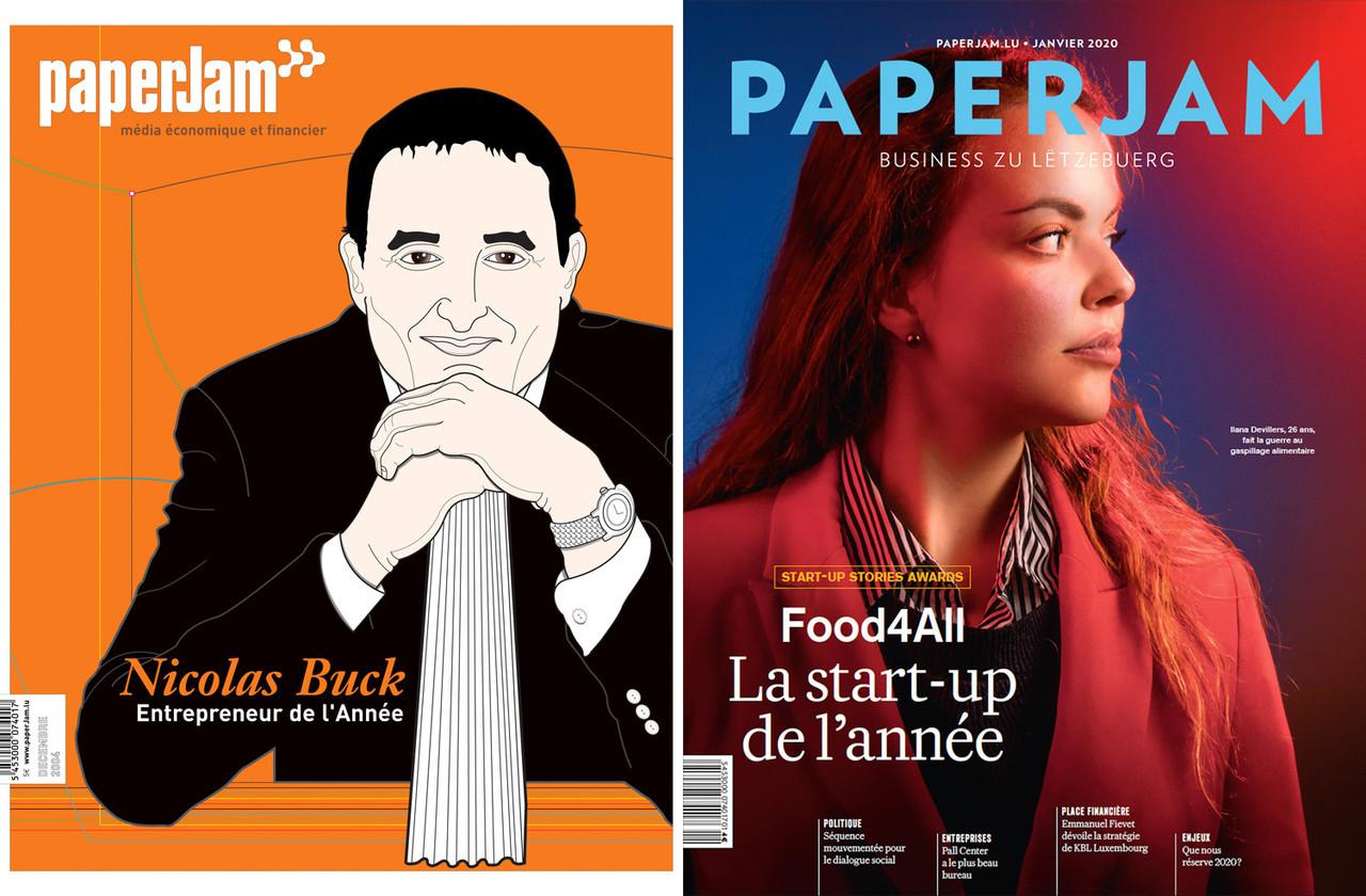Le magazine Paperjam célèbre son 20e anniversaire, l'occasion de se remémorer les couvertures qui ont accompagné l'évolution du titre depuis deux décennies. (Photo: Maison Moderne)