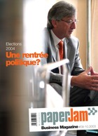Septembre-octobre 2003. Jean-Claude Juncker par David Laurent. (Archives / Maison Moderne)