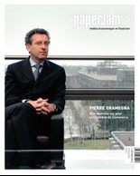 Février 2004. Pierre Gramegna par David Laurent. (Archives / Maison Moderne)