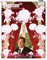 Septembre-octobre 2004: Jeannot Krecké par David Laurent. Illustration «Roses de Luxembourg» par Glauco Diogenes. (Archives / Maison Moderne)