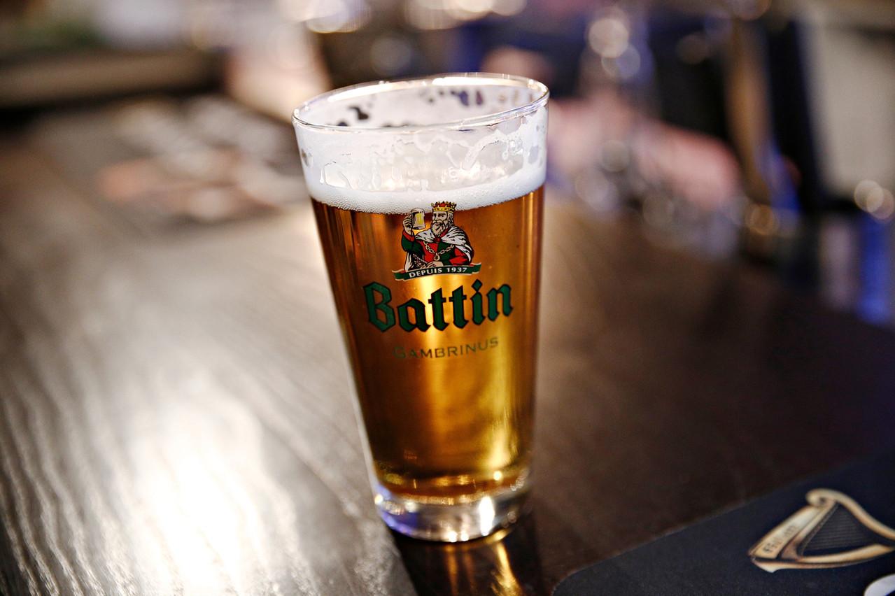 Le portefeuille de la Brasserie comporte désormais quatre marques phares: Bofferding, Battin (en photo), Funck-Bricher et l'eau Lodyss. (Photo: Shutterstock)