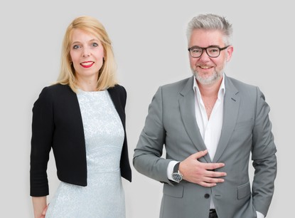 Me Elisabeth Guissart et Me Raymond Faber, Avocats à la Cour, Etude d'avocats /c law. (Crédit: /c law)
