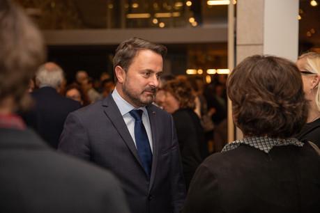 XavierBettel a présenté ses vœux à la presse dans le cadre du Musée national d'histoire et d'art. (Photo: Maison Moderne/Romain Gamba)