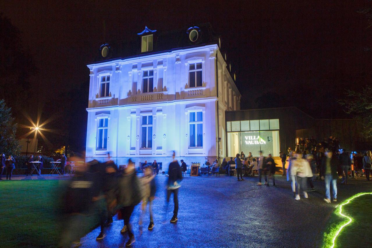 The Villa Vauban all lit up at the 2019 Museum Night copyright 2019 CHRISTIAN ASCHMAN