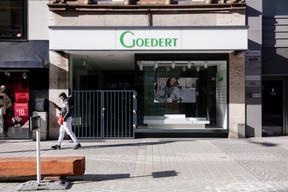 La cellule occupée jusqu'alors par les Chaussures Goedert cherche preneur. ((Photo: Romain Gamba / Maison Moderne))