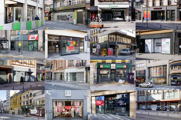 En quatre ans, le loyer moyen a fondu de moitié à l'avenue de la Gare. (Photo: Romain Gamba / Maison Moderne)