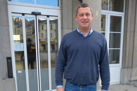 Dimitri Fourny est bourgmestre, député wallon et chef de groupe CDH au Parlement wallon. (Photo: Paperjam)