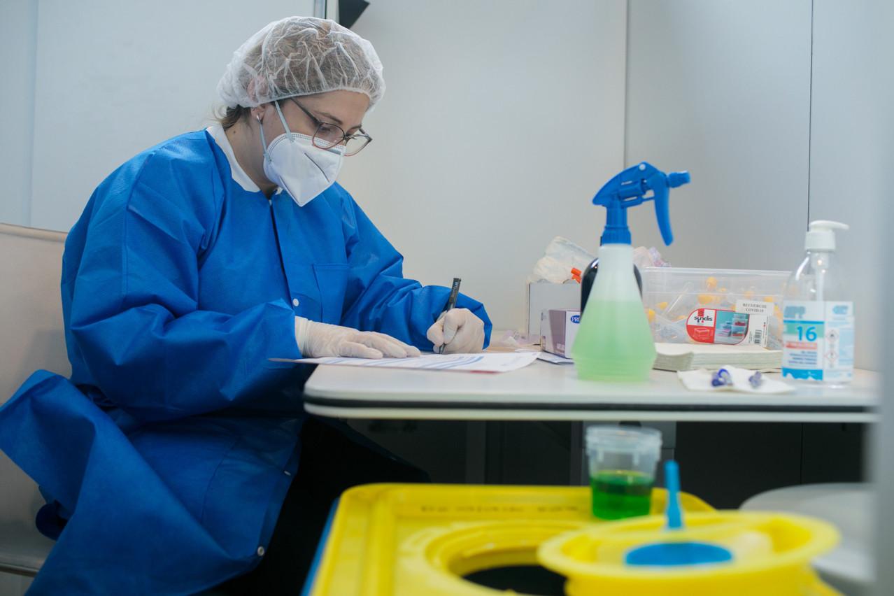Au total, 11.697 tests PCR ont été réalisés sur les résidents luxembourgeois, mardi. (Photo: Matic Zorman / Maison Moderne)