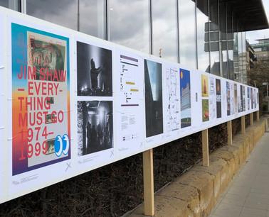 L'ensemble des 25 affiches sont exposées le long de l'Aquarium, boulevard Roosevelt à Luxembourg. (Photo: Casino Luxembourg)