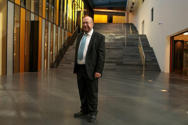 François Biltgen, juge à la Cour depuis 2013, aime endosser le rôle du guide. Il préside la commission de la CJUE chargée de superviser les projets immobiliers de l'institution. (Photo: Matic Zorman)