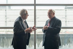 Jacques Santer (à droite) ((Photo: Nader Ghavami / Maison Moderne))