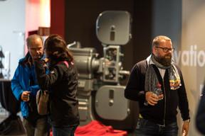 Alexis Juncosa, à droite (programmateur du Luxembourg City Film Festival) ((Photo: Nader Ghavami / Maison Moderne))