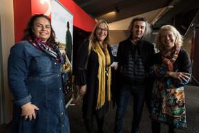 Françoise Lentz à gauche (Film Fund Luxembourg) Donato Rotuno (Tarantula) ((Photo: Nader Ghavami / Maison Moderne))