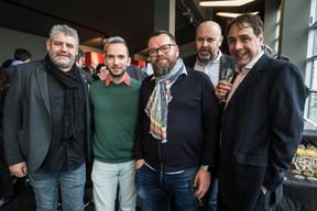 Alexis Juncosa, directeur artistique, Luxembourg City Film Festival, Duncan Roberts (Maison Moderne) ((Photo: Nader Ghavami / Maison Moderne))