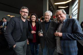 Claude Bertemes (Cinémathèque de la Ville de Luxembourg) à gauche. ((Photo: Nader Ghavami / Maison Moderne))