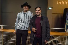 Nilton Martins à droite ((Photo: Nader Ghavami / Maison Moderne))