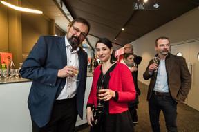 Gladys Lazareff, directrice Luxembourg City Film Festival à droite ((Photo: Nader Ghavami / Maison Moderne))