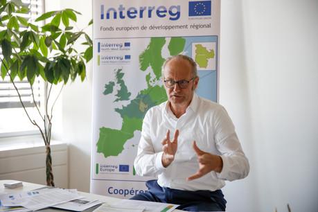 «L'UE ne doit pas être seulement une machine qui légifère, elle doit aussi faciliter la vie des Européens», explique ClaudeTurmes, au sujet du programme Interreg. (Photo: Romain Gamba / Maison Moderne)