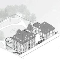Vue de la Villa Pétrusse après restauration. ((Illustration : Jim Clemes Associates))