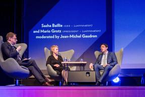 Jean-Michel Gaudron, Sasha Baillie et Mario Grotz (Luxinnovation) ((Photo: Marie De Decker))