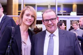 Mélanie Delannoy (2lannoy) et François Thill (ministère de l'Économie) ((Photo: Marie De Decker))