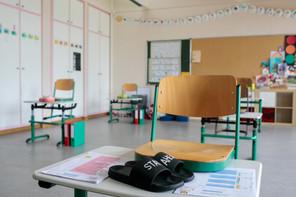 371 cas positifs au Covid-19 ont été décelés dans les écoles du pays en un peu plus d'une semaine. (Photo: Matic Zorman / Maison Moderne)