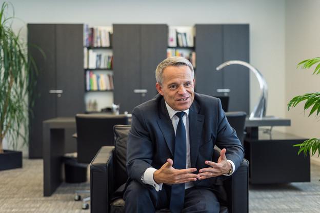 GuyHoffmann estime que les banques ont fait d'importants efforts pour soutenir le tissu économique luxembourgeois. (Photo: Mike Zenari/archives)