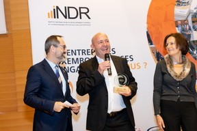 Norman Fisch, Yves Reding et Laurence Ponchaut ((Photo: Michel Brumat pour INDR Luxembourg))