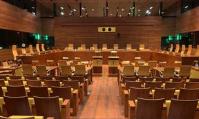 Les juges de la Cour convoquent des audiences pour écouter et interroger les protagonistes d'une affaire. ((Photo: Paperjam))