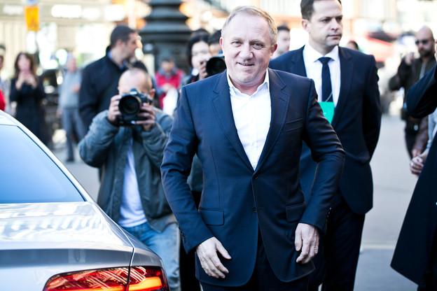 François-Henri Pinault a annoncé une contribution d'Artémis à hauteur de 100 millions d'euros. (Photo: Shutterstock)