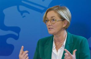La ministre de la Santé Paulette Lenert n'entend pas céder à la panique. (Photo:SIP/Jean-Christophe Verhaegen)