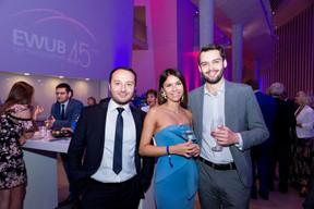 Kakhramon Sobirov, Tatiana Sakun et  Kirill Melnikov ((Photo: Marie De Decker pour EWUB))