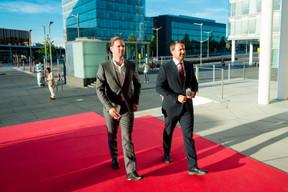 Gauthier Destenay et Xavier Bettel (Premier ministre) ((Photo:  Florian Talon  pour EWUB))
