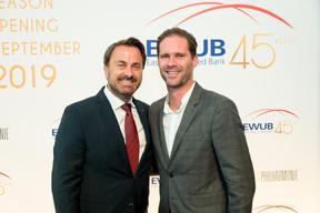 Xavier Bettel (Premier ministre) et Gauthier Destenay ((Photo:Marie De Decker pour EWUB))