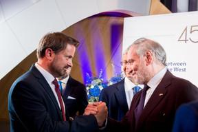 Xavier Bettel (Premier ministre) et  Valery Gergiev ((Photo:Marie De Decker pour EWUB))
