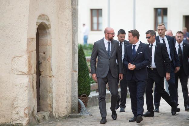 Mi-juin, le Premier ministre Xavier Bettel avait salué la proposition de son collègue et ami belge, Charles Michel, autour du plan de relance à 750 milliards d'euros. (Photo: Anthony Dehez / Archives Paperjam)