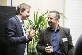 Denes Czucz (Commission européenne) et Mihai Dragota (Commission européenne) ((Photo: Nelson Coelho))