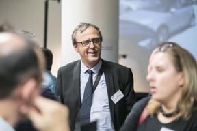 Au centre, Henri Berthe (Linedata Services Luxembourg) ((Photo: Nelson Coelho))