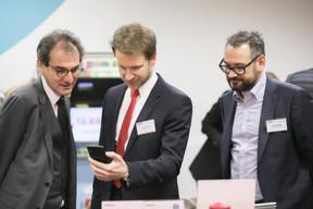 Christophe Vallet (Deloitte Luxembourg), Dan Vrabel (Deloitte Luxembourg) et Marc Sniukas (Deloitte Luxembourg) ((Photo: Nelson Coelho))