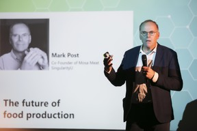 Mark Post (SingularityU) ((Photo: Nelson Coelho))