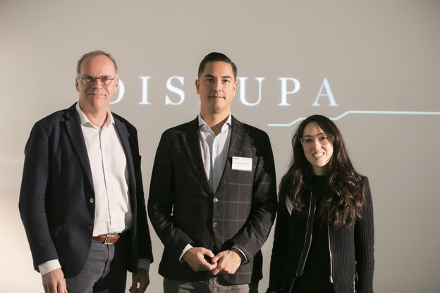 Mark Post (SingularityU), Roeland Dietvorst (SingularityU) et Marc Sniukas (Deloitte Luxembourg) (Photo: Nelson Coelho)