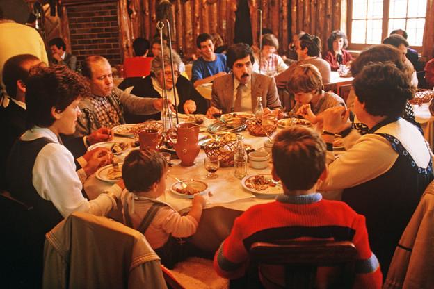 La cuisine portugaise, c'est de la gourmandise en famille, entre amis, sans trop de chichis. (Photo:Alain Le Garsmeur Lisbon Portugal/Alamy Stock Photo)
