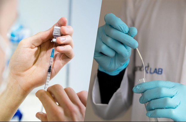 Les différents indicateurs de la pandémie de Covid-19 laissent entrevoir une amélioration de la situation. (Photos: Anthony Dehez/UE; Romain Gamba/Maison Moderne)