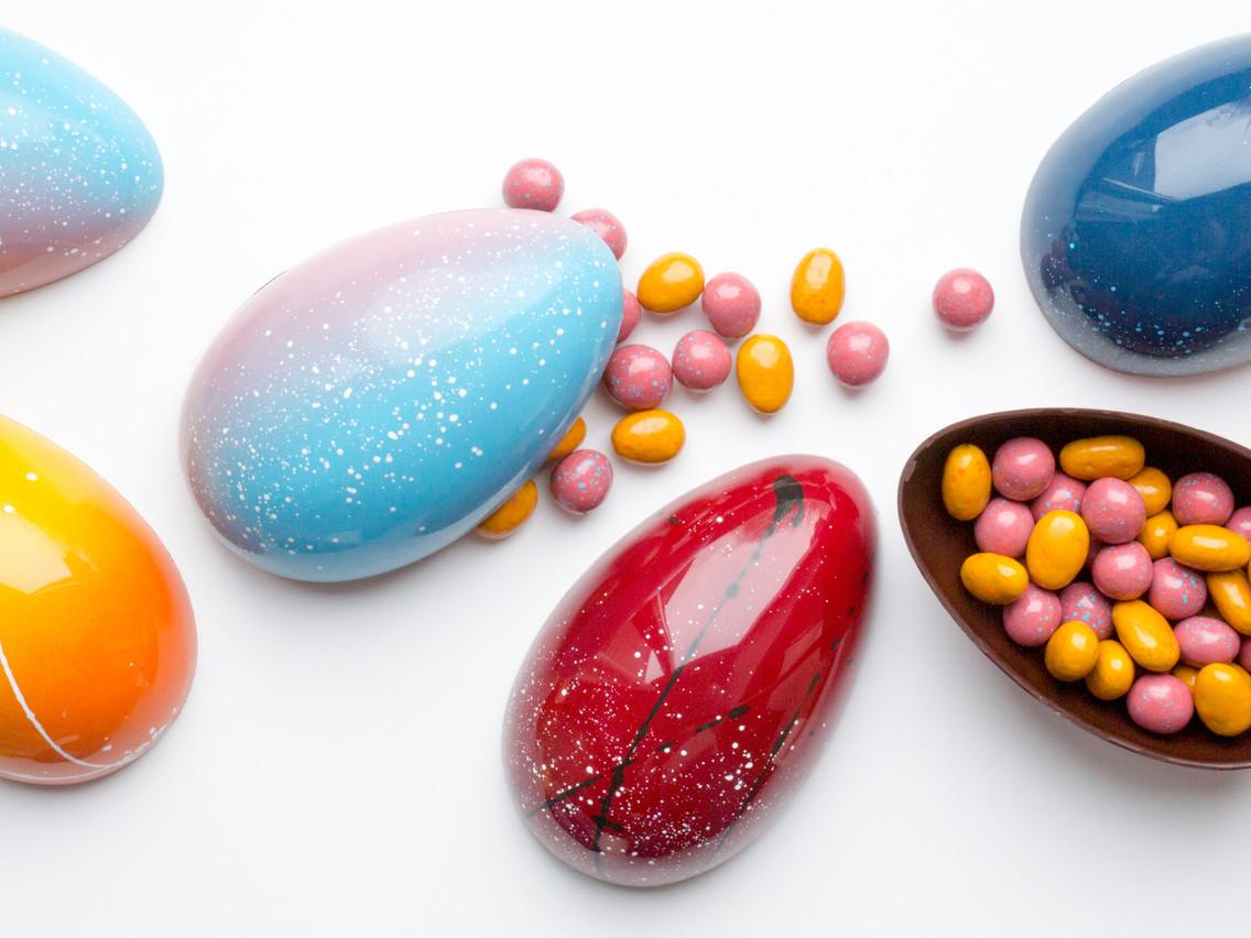 Le plein de couleurs avec des œufs peints à la main chez Lola Valerius, à Esch-sur-Alzette. (Photo: Lola Valerius)