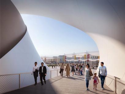 Le pavillon luxembourgeois surprendra les visiteurs à plus d'un titre. (Visuel: Expo universelle)