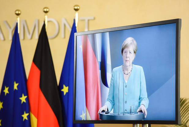 La course à la succession d'AngelaMerkel est lancée. Quel qu'en soit le résultat, la chancelière laisse derrière elle sa marque, empreinte de sobriété et de simplicité. (Photo: EU)
