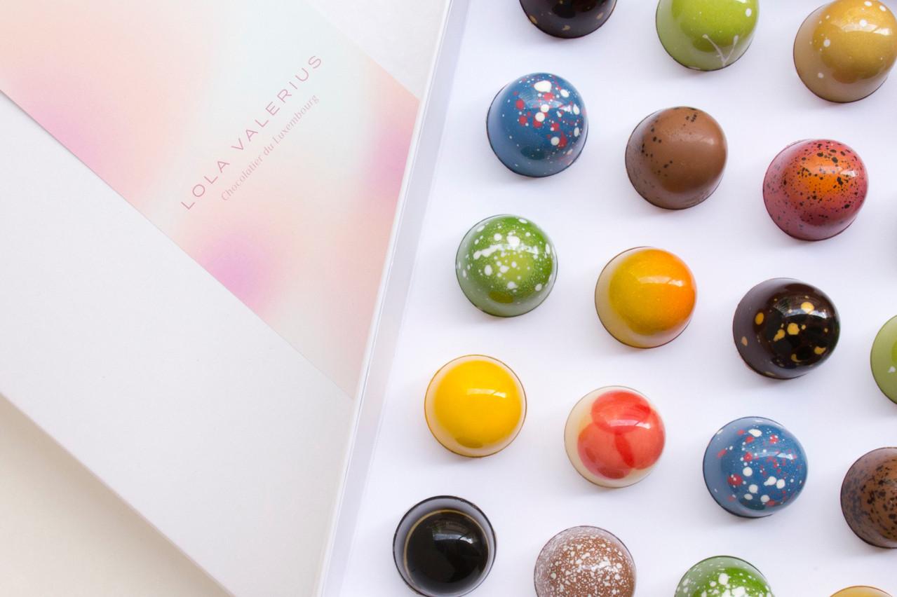 Les bonbons colorés et chocolatés de Lola Valerius. (Photo: Lola Valerius)