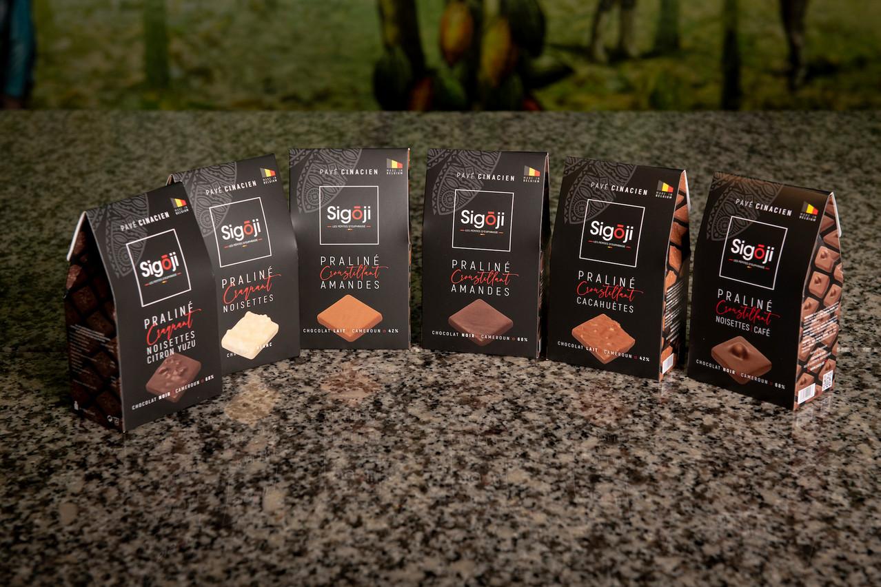 Plaisir coupable mais responsable avec les chocolats Sigoji. (Photo: SedranJPhotography)